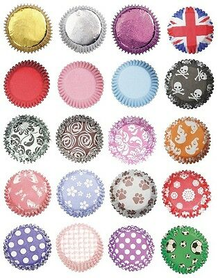 LARGE Range of CUPCAKE & CANDY CASES (Petit Fours/CAKE/BAKING/Party)