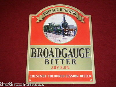 Beer Pump Clip - Broadgauge Bitter