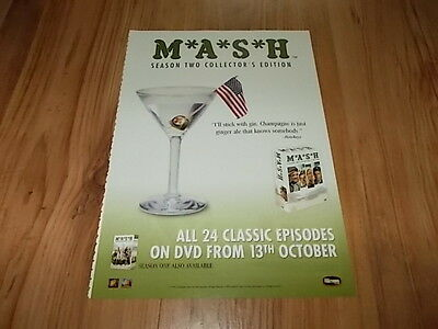 Mash season 2-2003 magazine advert