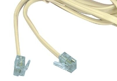 New 2M Long 4P4C Rj10 To Rj45 Cable, Straight Through Wired (1234 To 3456)