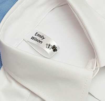 50 Sew In School Name Labels Name Tags Garment Labels