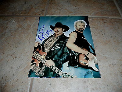 Kix Brooks Brook & Dunn Signed Autographed 8x10 Live Music Photo Country #3