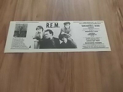 R.E.M-1985 magazine advert