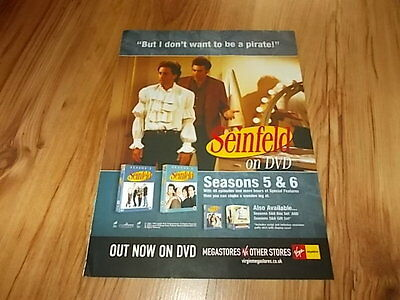 Seinfeld seasons 5 & 6-magazine advert