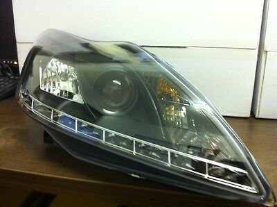 Ford Focus Inc CC 2008 To 2011 LED DRL Headlights Headlamps Brand New & Boxed