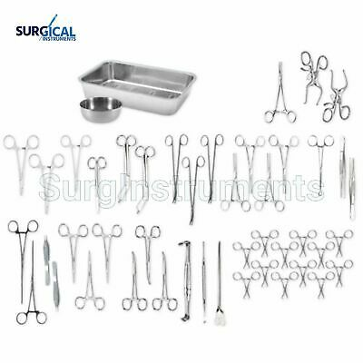 Delux veterinary Dissection kit Surgical Instruments High Grade Stainless steel