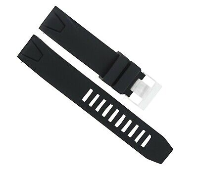 20Mm Rubber Strap For 42Mm Omega Seamaster Planet 2201.51 2908.50 2209.50 Black