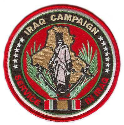 Iraq Campaign Medal Patch