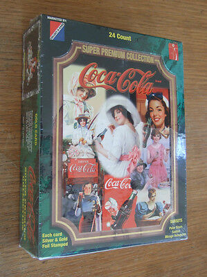 Coca-Cola Trading Cards~Super Premium Collection~box of 24~new/sealed