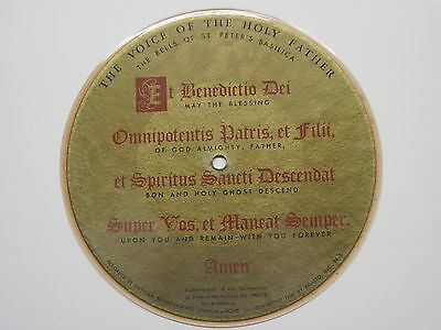 1949 Picture 45 Voice Of The Holy Father - Bells Of St. Peter's Basilica Vatican