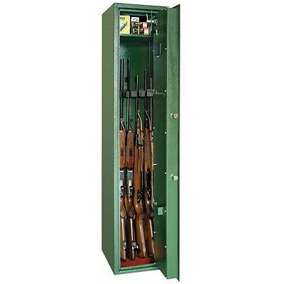 Digital Security Gun Safe Cabinet 5 Weapons Guntronic Rottner
