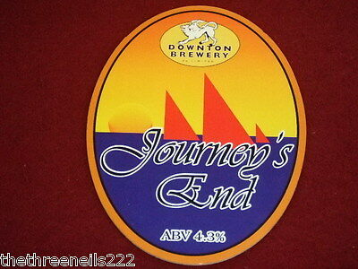 Beer Pump Clip - Journey's End
