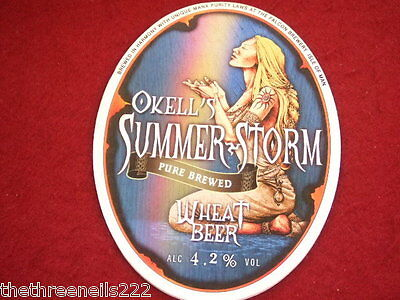 Beer Pump Clip - Okell's Summer Storm