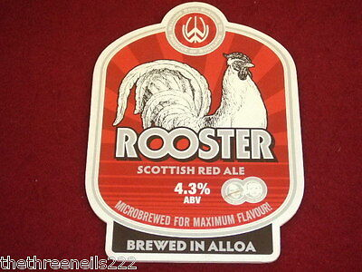 Beer Pump Clip - Rooster Scottish Red Ale