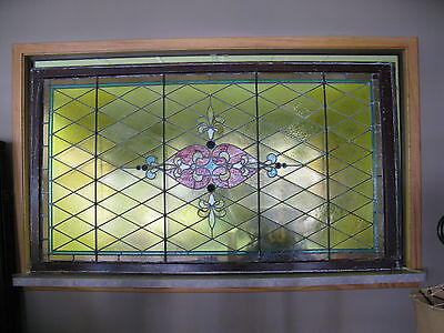 1900 Stained Glass Window Detroit.