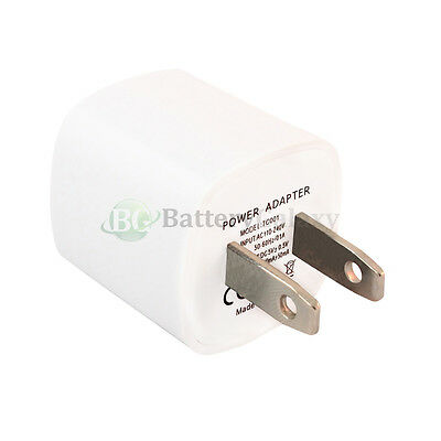 100 USB Travel Battery Home Wall AC Charger Adapter for Apple iPhone 5 5G 5S