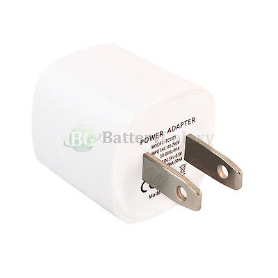 50 USB Fast Travel Battery Home Wall AC Charger Adapter for Apple iPhone 5 5G 5S