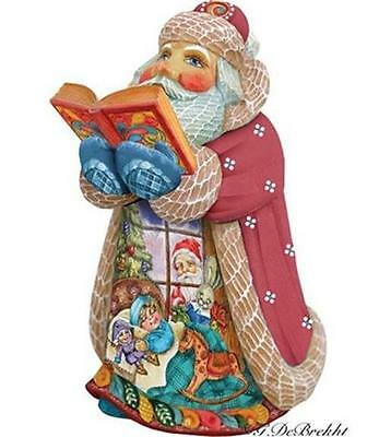 G Debrekht Rocking Storytelling Santa 600 piece Ltd Ed Christmas Night 5165152