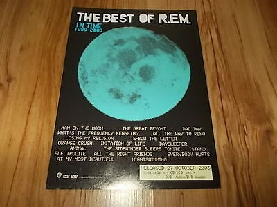 R.E.M-2003 magazine advert