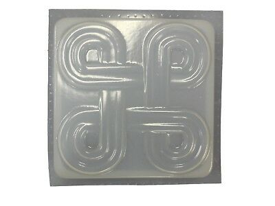 SQUARE CELTIC STEPPING Stone Plaster or Concrete Mold 1199 Moldcreations