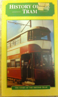 History Of The  British Tram Vhs Video  Tape