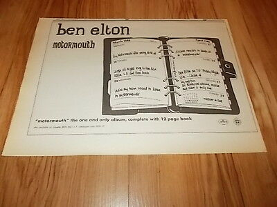 Ben Elton-magazine advert