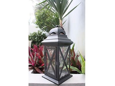 6 x Candle holder metal Lantern 30cm tall Bulk Wholesale lot reduced to clear