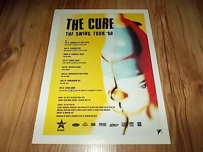 The Cure-1996 magazine advert