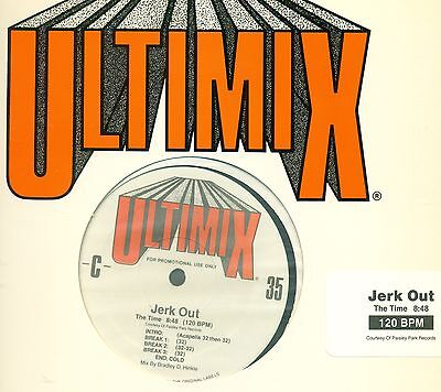 """Ultimix The Ultimate Mix 35 The Time Dino 12"""" Maxi (L9294)"""