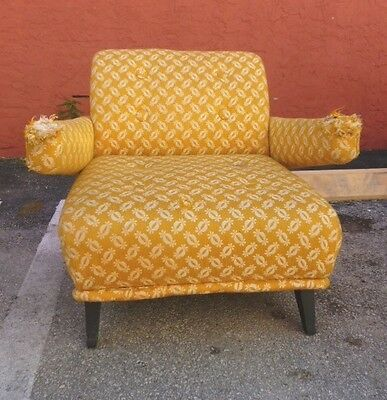 Great Form Mid Century Modern 1950's Club  Or Lounge Chair