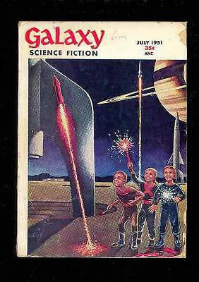 (PULP) GALAXY SCIENCE FICTION vol. 2 n° 4, 07.1951 édition originale USA