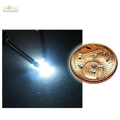 100 SMD LEDs 0603 Weiß SMDs weiße mini LED white blanch