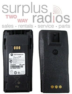 NEW OEM MOTOROLA BATTERY CP200XL CP150 PR400 CP200 NNTN4970A LI-ION 1600mAh SLIM