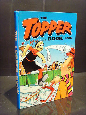 Dc Thomson The Topper Book 1986 Gc