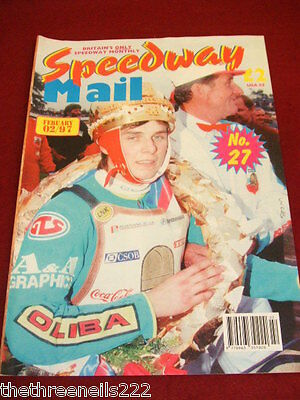 Speedway Mail Monthly #27 - Feb 1997