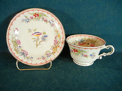 Syracuse Bombay Gold Trim Cup and Saucer Set(s)