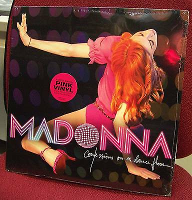 MADONNA - Confessions of the DANCE F. - 2 LP VINYL ROSA NUMERATO SIGILLATO MINT!