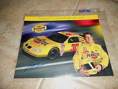 Johnny Benson Signed Autographed 8x10 Promo Nascar Car Racing Photo Picture #2