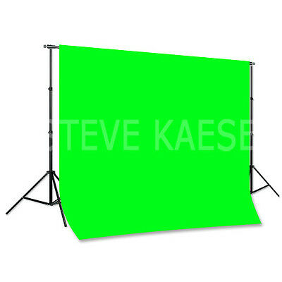 Backdrop Support 8ft x10ft Chromakey 6ft x 9ft Steve Kaeser Photographic Lighing