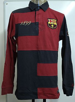 Barcelona 1899 L/s Rugby Jersey By Nike Size Adults Small Brand New With Tags