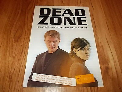 The Dead zone tv series-2003 magazine advert