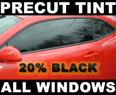 Chevy Tracker 4dr 99-04 PreCut Window Tint -Black 20% VLT FILM