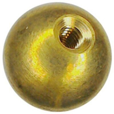 "26 3/4"" threaded8-32 brass balls drilled tapped"
