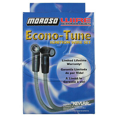 MADE IN USA Moroso Econo-Tune Spark Plug Wires Custom Fit Ignition Wire Set 8410