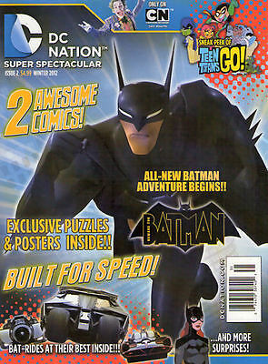 DC NATION #2 November 2012 - NEW