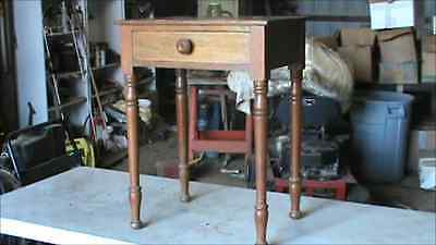 Shaker night stand nightstand table  see video of item an make offer
