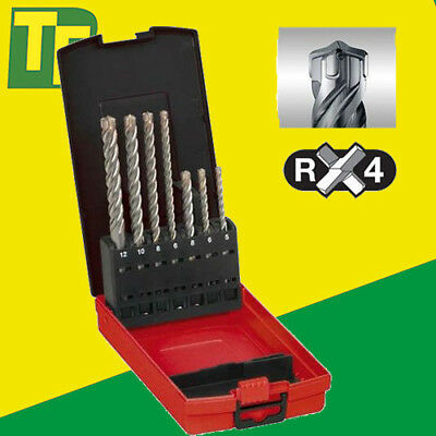 New Milwaukee 4932451464 - 7 Piece SDS+ MX4 4 Tip Masonry Bit Set