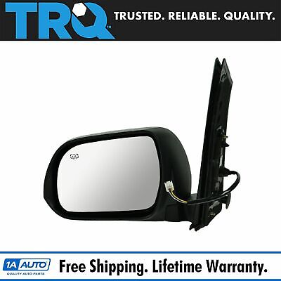 NEW LEFT POWER DOOR MIRROR WITH HEATED GLASS FITS 11-12 TOYOTA SIENNA TO1320265