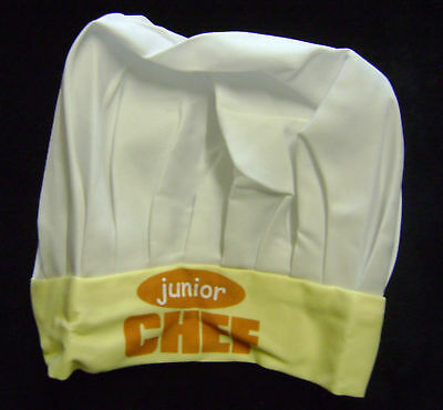 New Children's Junior Baking Chef Hat Fabric Yellow