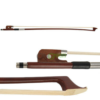 New Cello Bow 1/2 Size Rosewood Round Stick Ebony Horsehair